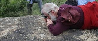 随县桐柏山区发现大量史前岩画