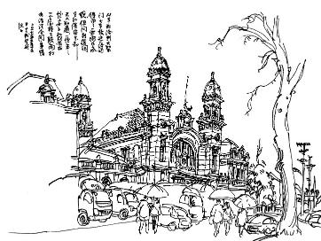 一支钢笔,描绘江城往昔的光阴