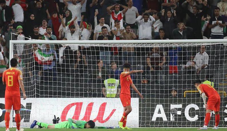 亚洲杯:中国队无缘四强