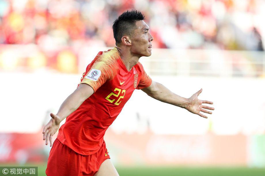 亚洲杯小组赛 中国2-1吉尔吉斯斯坦