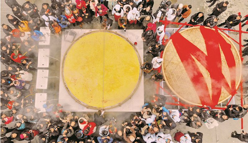 首届湖北·荆州鱼糕节开幕