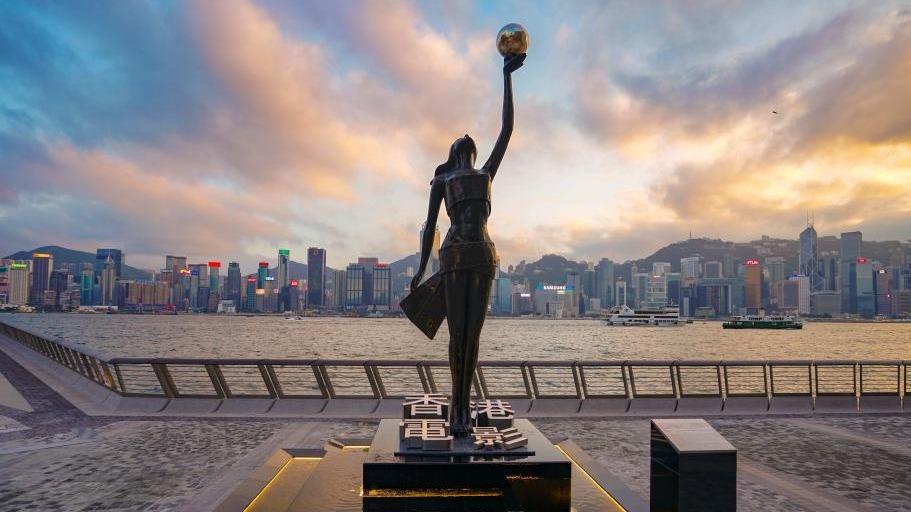 香港星光大道_香港著名地标\