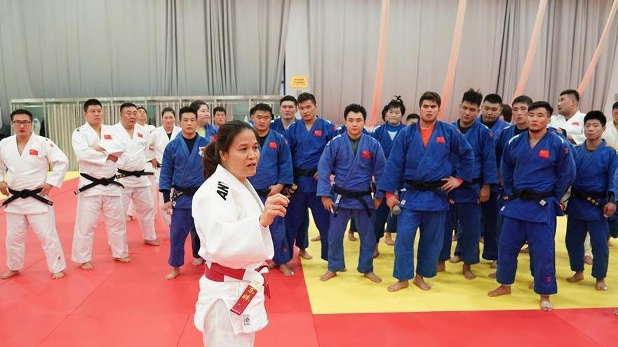 柔道:国家集训队集体实战合练