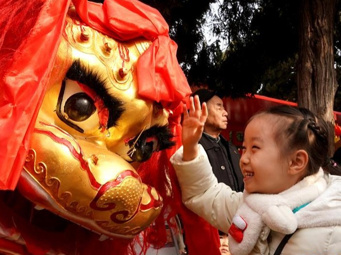 文化展演迎新春