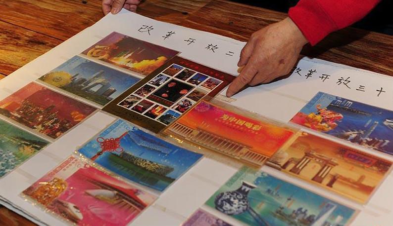 长春7旬老人收藏明信片48年 6千张见证国家变迁