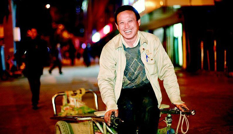 汉正街上搬运工有苦有累也有梦