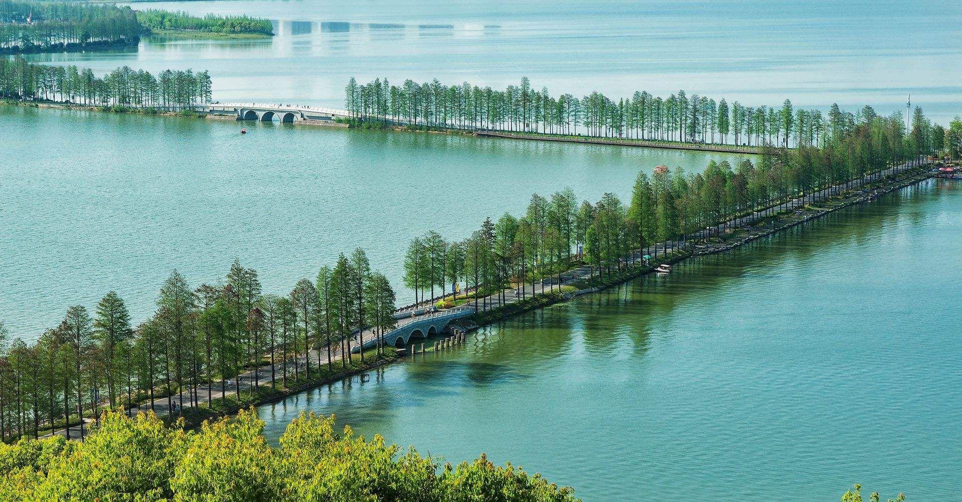 武汉东湖绿道——国内首条城区内5A级旅游景区绿道