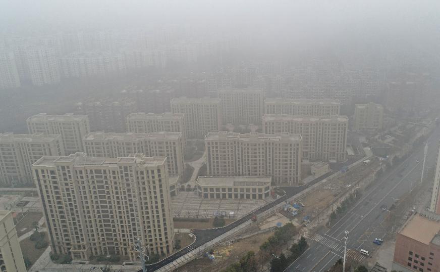 武汉大雾迷城