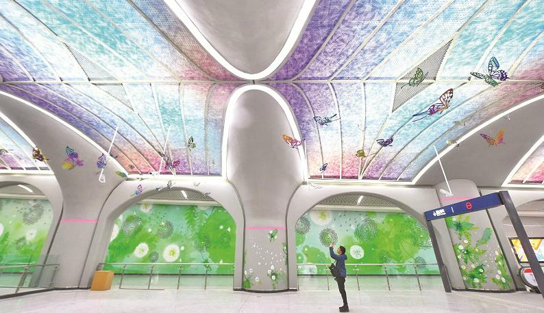 2号线南延线开通:光谷走向世界 地铁拥抱光谷