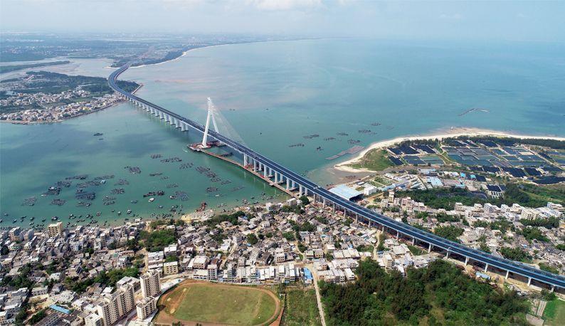 在鄂央企又一杰作--海文跨海大桥