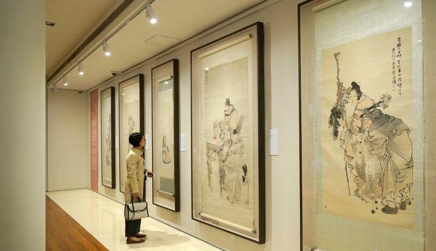 """香港将举办""""中国美术馆藏任伯年人物画特展"""""""