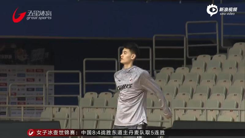 """上海男篮主场迎""""生死战"""""""
