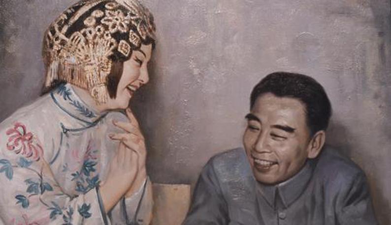 """第七届武汉""""戏码头""""中华戏曲艺术节上,15幅油画回顾陈伯华绝代风华"""