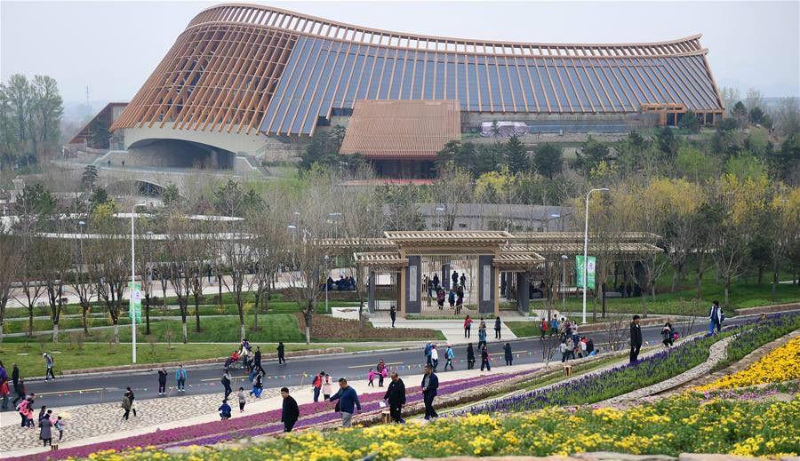 北京世园会进行全负荷压力测试
