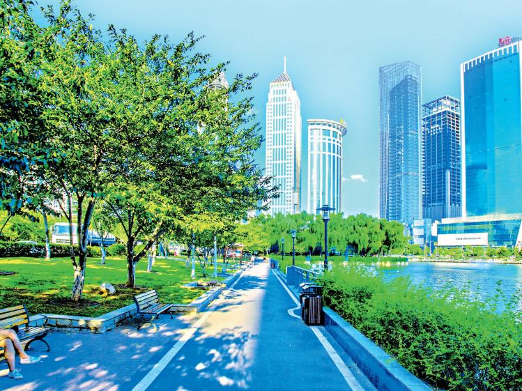 城市颜值气质提升 随手一拍都像明信片