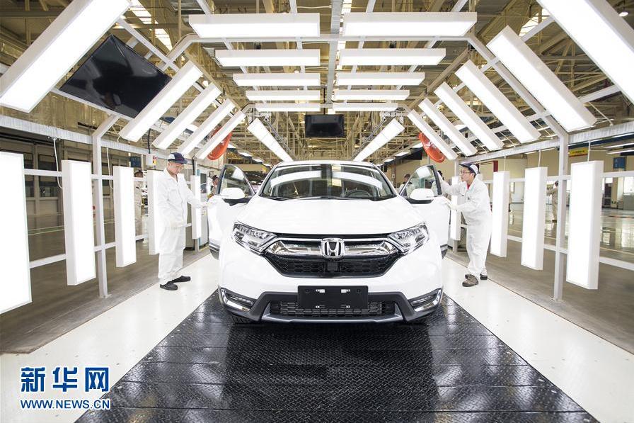 東風本田第三工廠在武漢投產