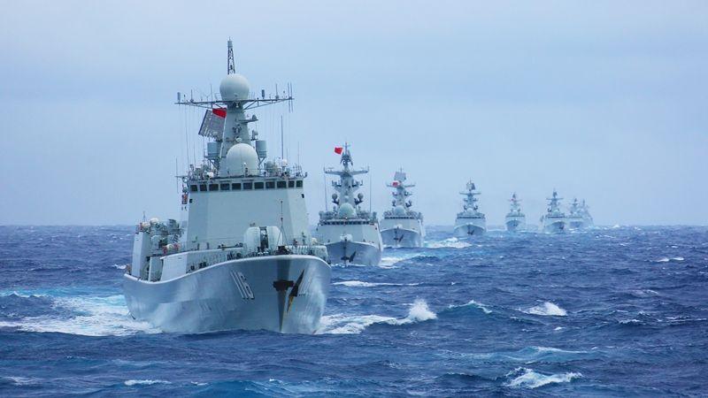 向着深蓝出发——献给人民海军成立70周年