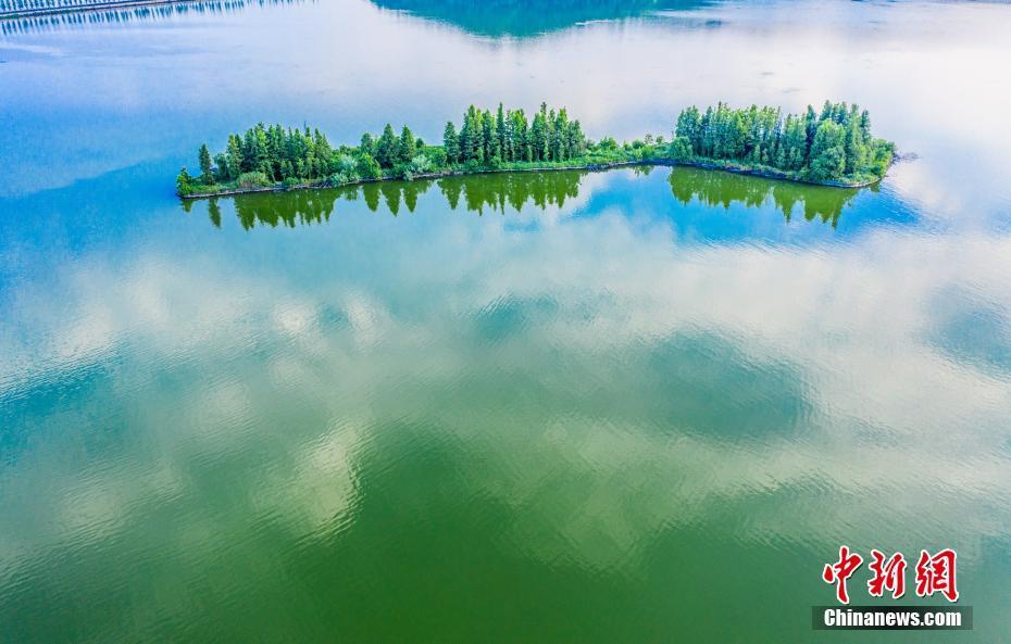 湖北武汉落雁岛景色怡人