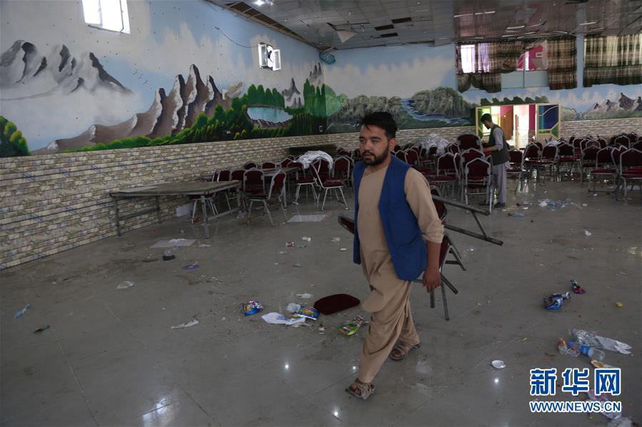 阿富汗一婚礼现场遭袭已致63人死亡