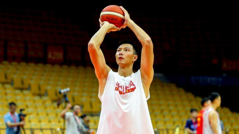 中国男篮武汉备战2019男篮世界杯,今晚与巴西队打热身赛