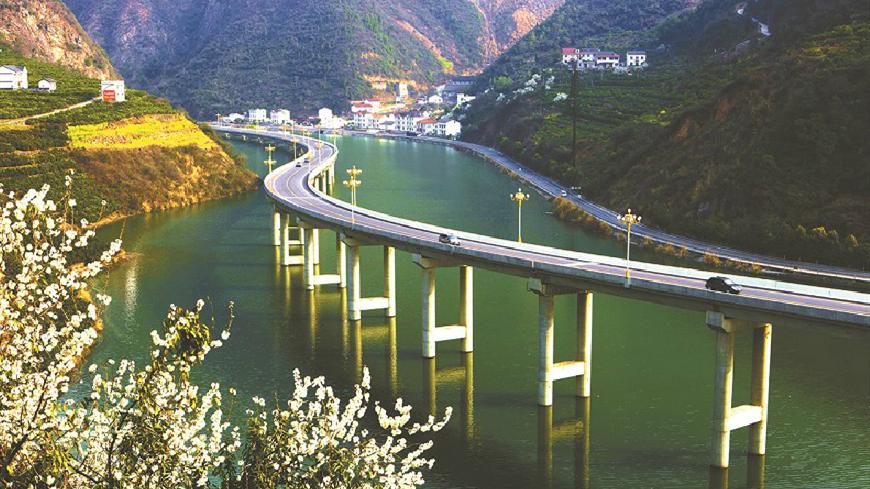 宜昌一江清水向东流