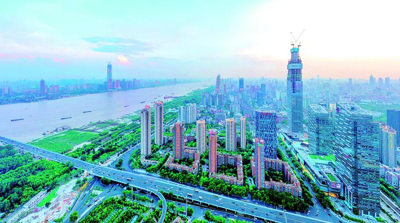 长江左岸即将崛起436米金融新地标  武汉天际线10年长高100多米