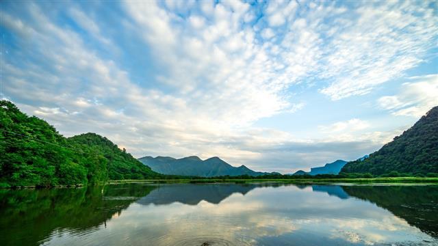 云间仙境大九湖