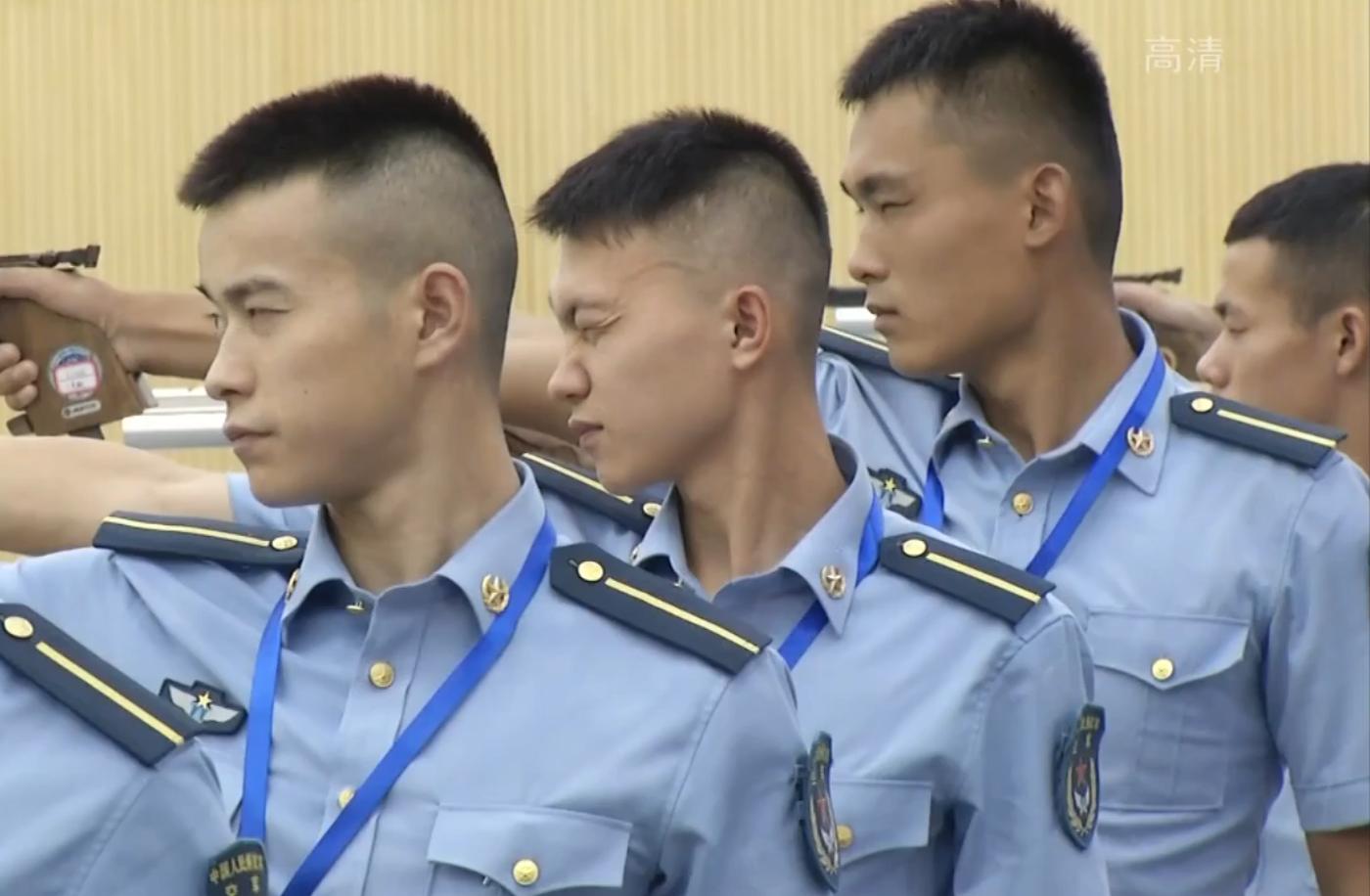 军运会空军五项测试赛在武汉开赛