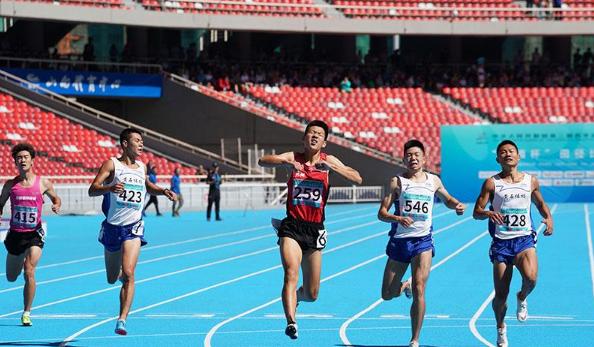 二青会-20秒86!隋高飞刷新个人最好成绩夺男子200米冠军