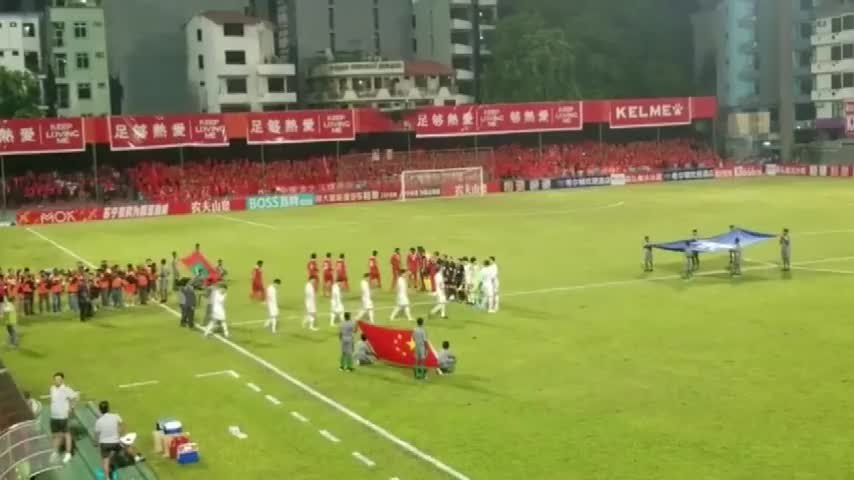 国足5-0马尔代夫 世预赛开门红