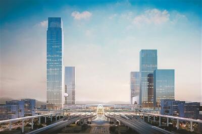 """""""杭州高铁西站枢纽明日开工,确保2022年亚运会前建成运营"""