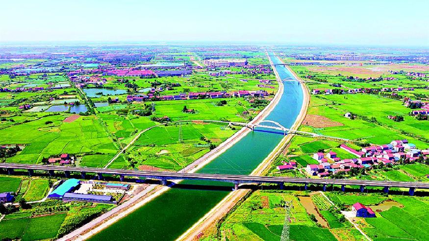 引江济汉工程应急调水解四湖流域之渴