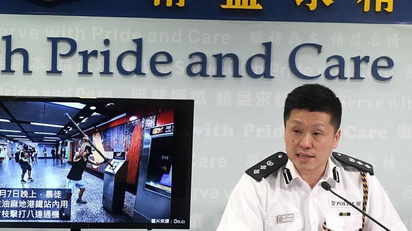 香港警方就近期违法事件拘捕157人