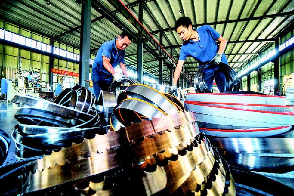 咸安经济开发区:小小锯齿九项专利