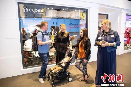 中企在德国科隆国际婴幼儿展上受关注
