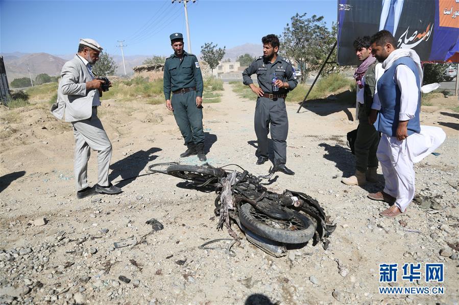 """""""阿富汗总统竞选集会活动遭炸弹袭击 造成24人死亡"""