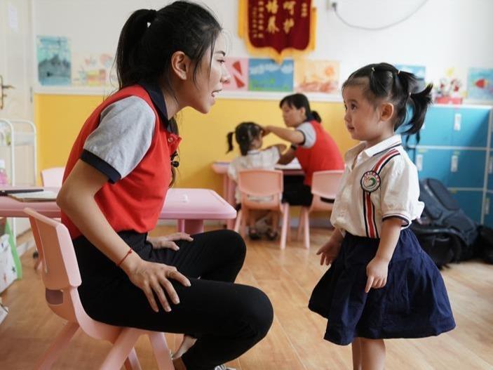 """武汉特教教师 用爱的""""魔法""""打开听障宝宝的无声世界"""