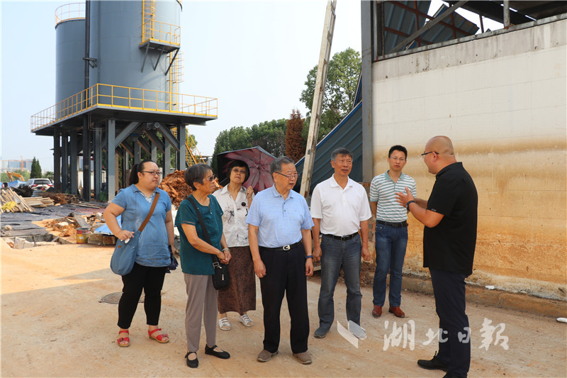 环保院士魏复盛到访武汉:技术成果要转化为生产力