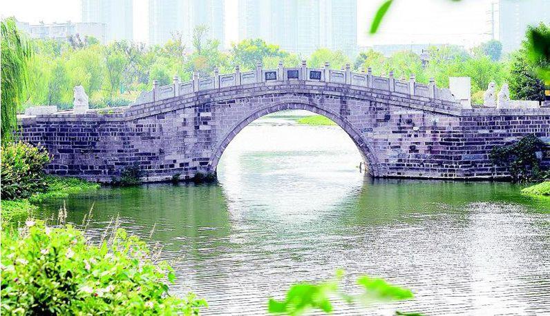 500年北洋桥畔崛起美丽生态公园
