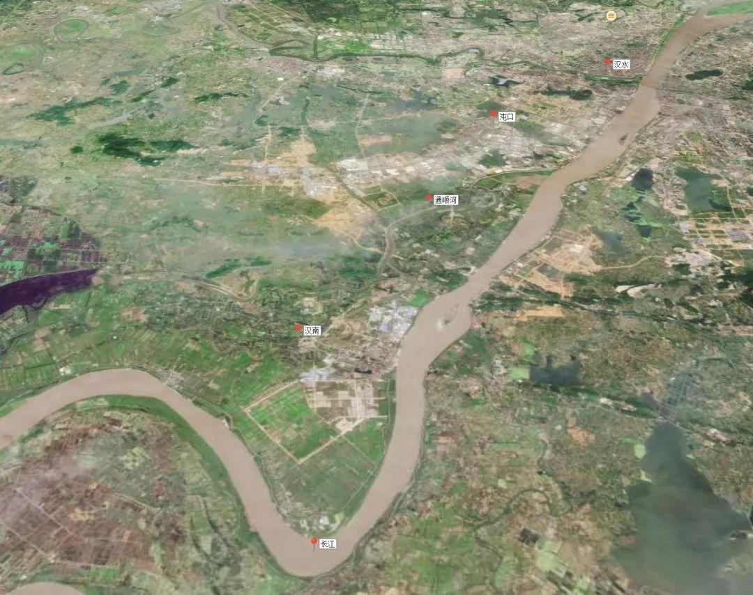 汉川卫星地图详细高清