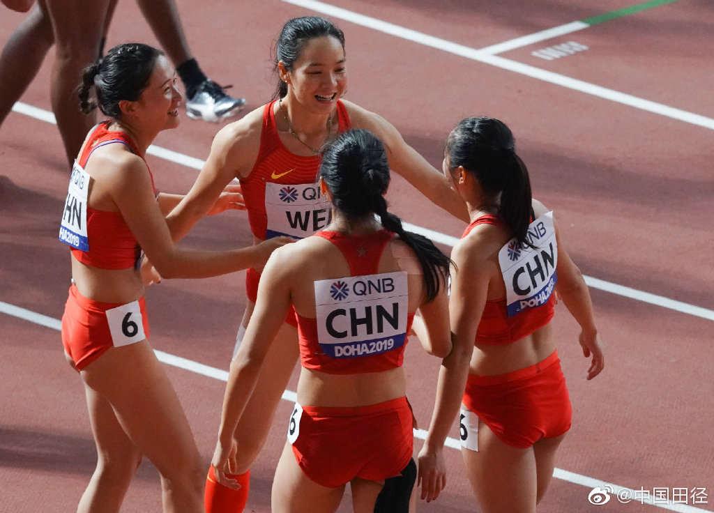 歷史首次!中國男女4×100米接力雙雙晉級決賽
