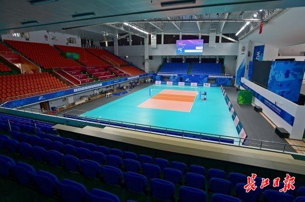 16日起,去江汉大学看军运会排球