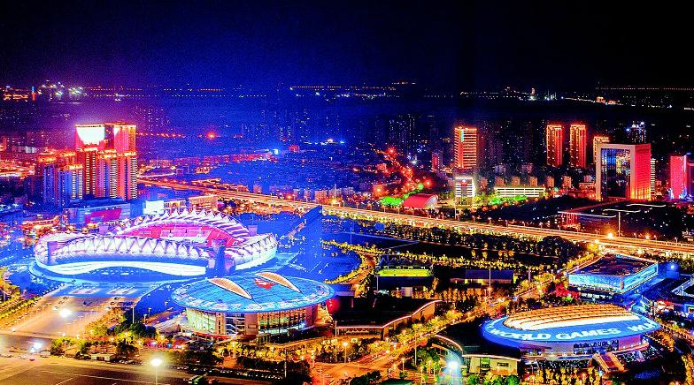 武汉體育中心焕然一新  静待盛会开启