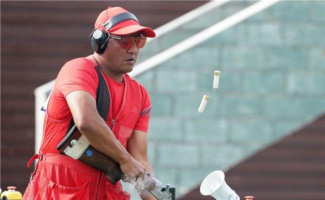 军运会射击男子、女子飞碟多向团体赛 中国队夺得两枚金牌