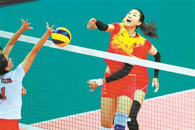 中国八一女排两连胜 李盈莹斩获全队最高18分