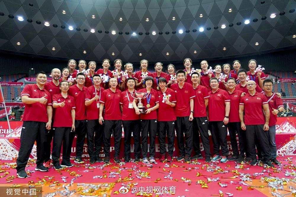 """""""国际排联最新排名:中国女排时隔一年重返世界第一"""