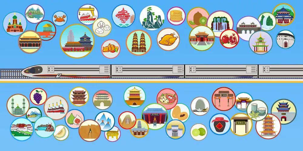 好多多多線路圖!40條鐵路貫穿你家鄉的美景美食