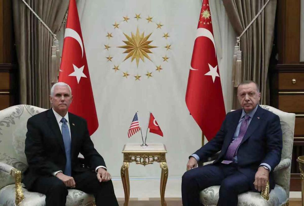 """""""土耳其将暂停在叙军事行动120小时"""