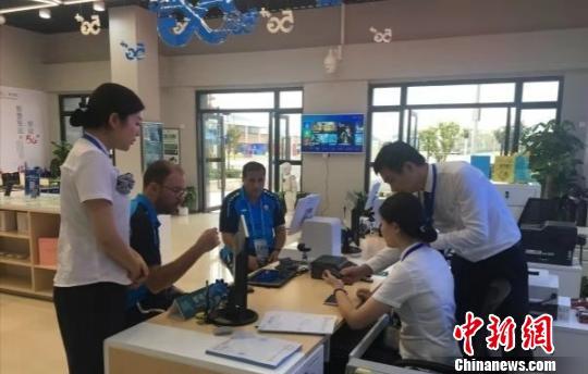 """""""武汉军运村""""5G营业厅"""":360度全景直播军运会赛事"""