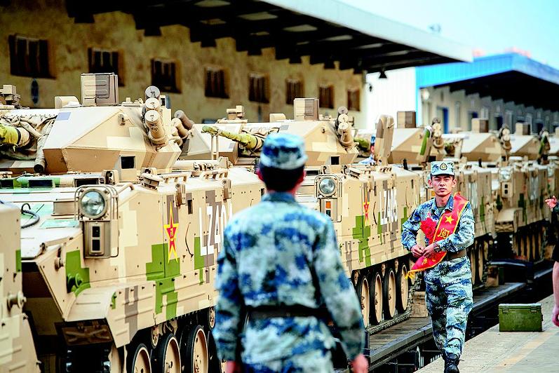 圆满完成新中国成立70周年阅兵任